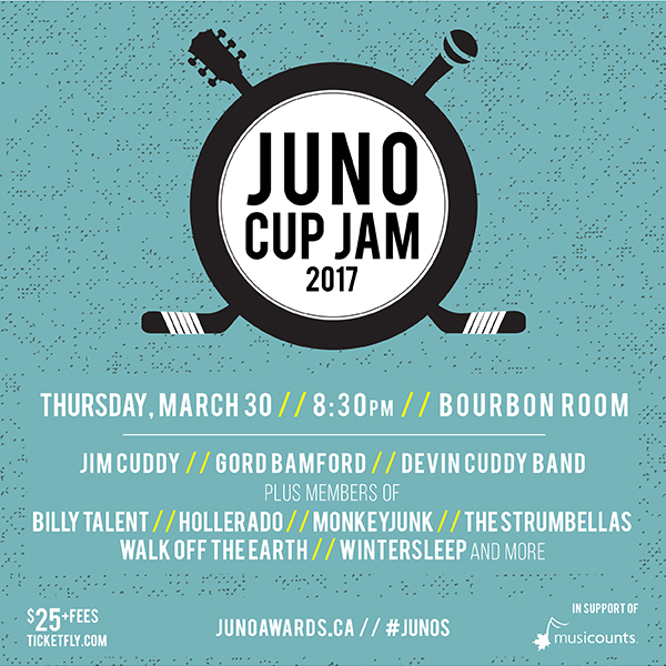 2017 JUNO Cup Jam poster