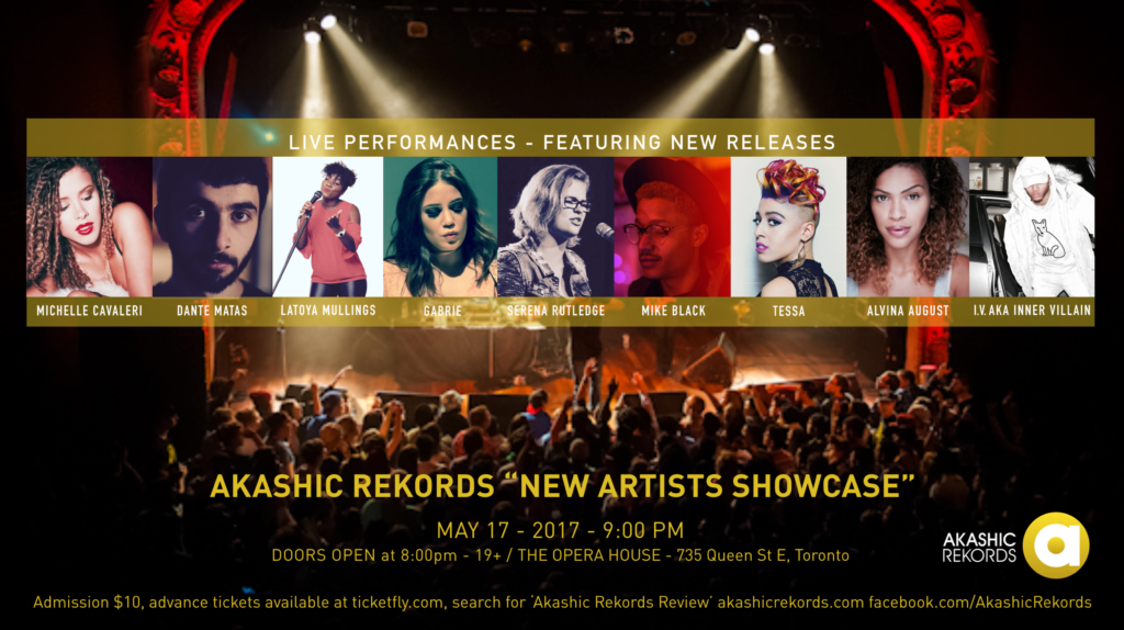 Akashic Showcase Opera House May 17 2017