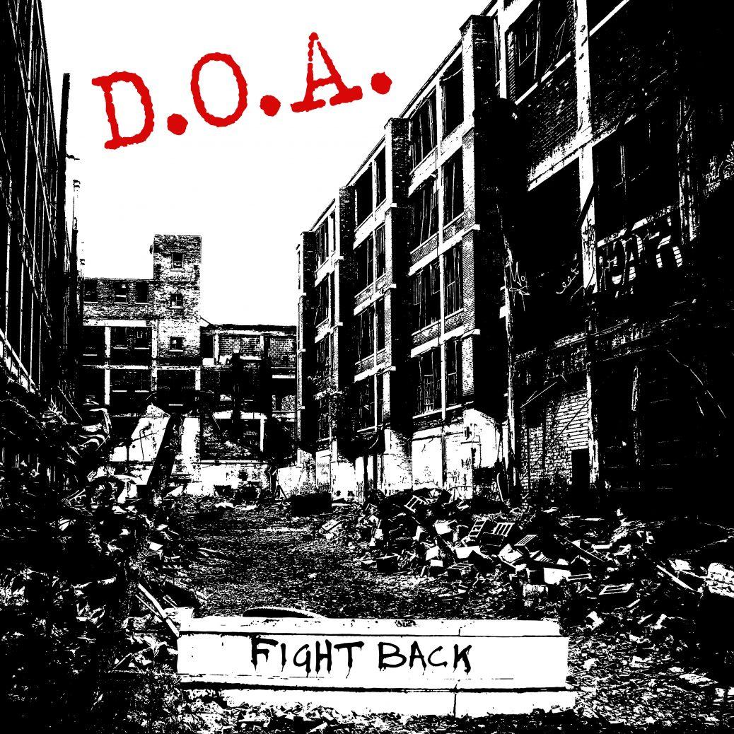 DOA Fight Back Cover