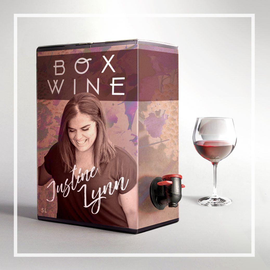 box wine justine lynn